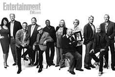 St. Elsewhere reunion: Cythia Sikes Yorkin, Ed Begley, Jr., Chad Allen, Stephen Furst, Norman Lloyd, Eric Laneuville, Bonnie Bartlett, William Daniels, Christina Pickles, Mark Harmon, Howie Mandel, and David Morse
