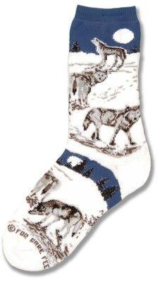 Night Wolf Sock