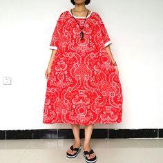Women Plus Size Dress Loose Fitting Summer Short Sleeve Dress