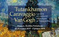 Interessante evento #Tutankhamon, #Caravaggio, #VanGogh