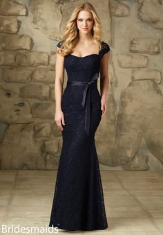 Mori Lee BRIDESMAIDS FALL 2015 Collection: 108 - Lace