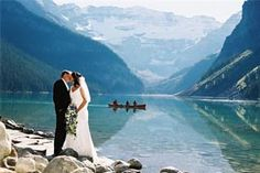 This is why you get married in Banff!! Amazing scenery