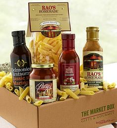 They're not just gift baskets, they're gourmet assortments for every personality, straight from the market! Meet our Market Boxes today
