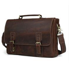Briefcase For Men, Leather Briefcase, Cow Leather, Cowhide Leather, Leather Craft, Iphone Leather Case, Messenger Bag Men, Leather Bags Handmade, Leather Shoulder Bag
