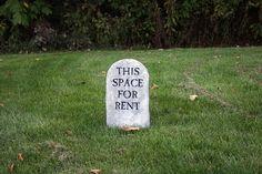 Cute tombstone