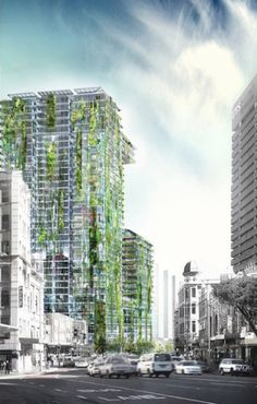 World's Tallest Vertical Garden Planned for Sydney's One Central Park Tower