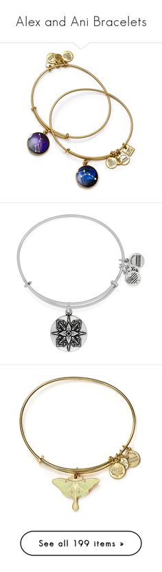 """""""Alex and Ani Bracelets"""" by marielw97 ❤ liked on Polyvore featuring jewelry, bracelets, rafaelian gold, expandable bangle bracelet, bangle bracelet, bracelets bangle, wire jewelry, expandable bangle, silver and hinged bracelet"""