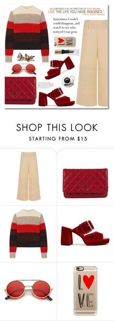"""""""love like this"""" by limass ❤ liked on Polyvore featuring C/MEO COLLECTIVE, Chanel, rag & bone, Finery London, Casetify, Christian Lacroix and Bobbi Brown Cosmetics"""