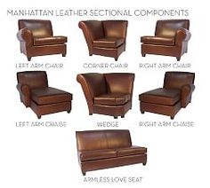 Leather Sofas & Tufted Leather Sofas   Pottery Barn