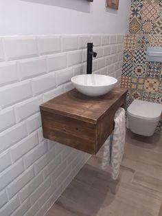 Un mueble de lavabo con palets minimalista – I Love Palets Ideas Para Organizar, Wood Projects, Sink, Vanity, Bathroom, Love, Navidad Diy, Pallet Ideas, Home Decor