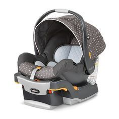 Cutest and safest gender neutral newborn carseat. Chico Key Fit 30 in Lilla. Baby