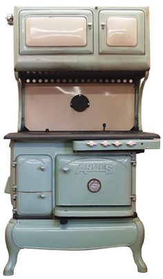 Coook Stoves for Sale : Andes Gas/Wood Dual Fuel Antique Cook Stove