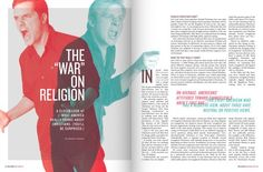 Creative use of pull quotes: The War on Religion<