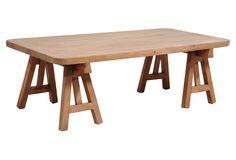 One Kings Lane - The Coffee Table - Helio Coffee Table