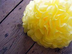 Lemon shade of yellow