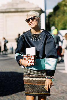 Paris Fashion Week SS 2013....Elisa