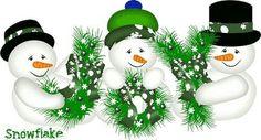 I find JOY collecting snowmen! snowmenX3