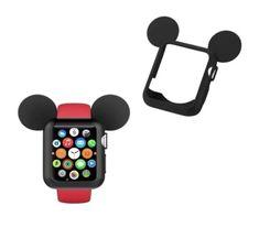 Husa protectie Apple Watch 38mm, Seria 1, 2, 3 | Gratuitescu.ro Apple Watch, Mickey Mouse, Watches, Wristwatches, Clocks, Baby Mouse