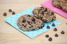 2-Ingredient Breakfast Cookies…with options -- prepare these in minutes for a healthy snack or meal on the go