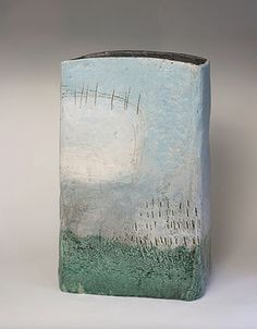 Ceramics by Craig Underhill at Studiopottery.co.uk - 2009 In the sky Height 56cm.