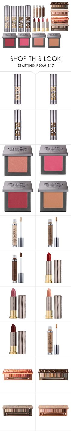 """""""Urban Decay/ Naked"""" by jessiecary on Polyvore featuring beauty and Urban Decay"""