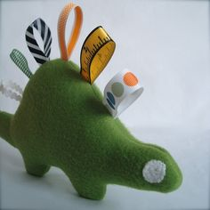 Baby Dino - Alexandria would love this... must learn to sew!!