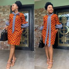 African dress - 2019 Lovely Ankara short Gown Styles for Pretty Ladies Short African Dresses, Ankara Short Gown Styles, Short Gowns, African Print Dresses, African Prints, Ankara Gowns, African Fabric, Kente Styles, African Fashion Ankara