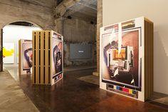 """David Maljkovic, Installation view, """"All the World's Futures"""", La Biennnale di Venezia, 2015"""