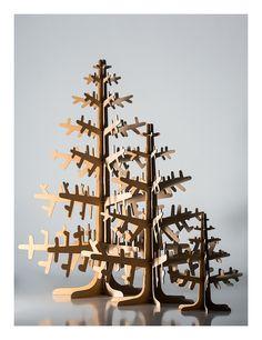 Cardboard trees
