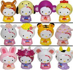 Hello Kitty Zodiac Dolls