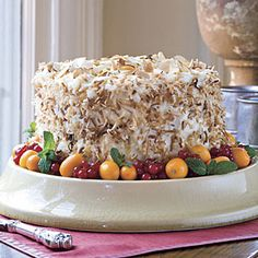 Luscious Layer Cakes   Coconut-Almond Cream Layer Cake   SouthernLiving.com