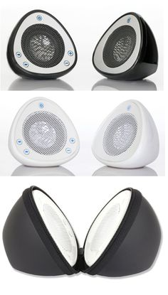 Qmadix Iharmonix Q-i-sound speaker: Powerful midget