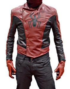 Last Stand Spiderman Peter Parker Leather Jacket – Leather Style Men's Leather Jacket, Leather Men, Leather Jackets, Pink Leather, Man Jacket, Moda Geek, Leather Fashion, Mens Fashion, Moda Pop