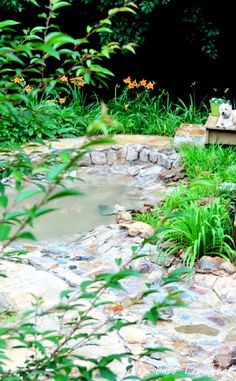 DIY Backyard water feature/pond