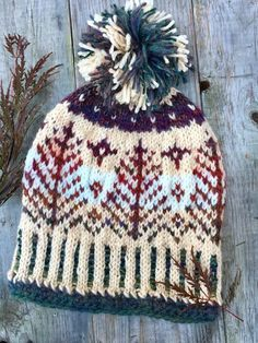 ce8b30339f8 76 Best Fair isle hats loopsnswoops images