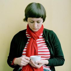 my sweet sweet love Tracyanne Campbell from Scottish band Camera Obscura. love her lyrics and warbly voice.