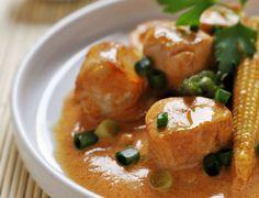Curry rouge de lapin Voir la recette du curry rouge de lapin