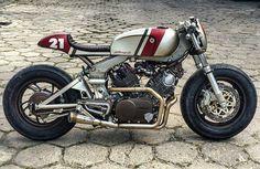 @caferacersculture Yamaha XV750 @cardsharper_customs                                                                                                                                                                                 Mais