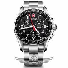 Victorinox Swiss Army Chrono Classic XLS Quartz Watch 241443 - #OCWatchCompany #SwissArmy #WatchStore #WalnutCreek