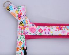 Norwegian harness for dogs in a cheerful pattern. by SowinkaDesign, $12.00