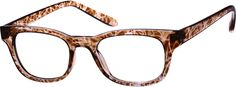 Order online, women brown full rim acetate/plastic square eyeglass frames model #286115. Visit Zenni Optical today to browse our collection of glasses and sunglasses.