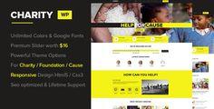Charity - Foundation/Fundraising WordPress Theme