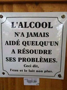 Haaaaa, l'alcool. http://www.15heures.com/photos/zAkM?utm_source=SNAP #LOL