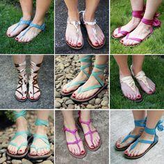 DIY Ties   Sseko Sandals: Every pair helps to educate + empower women.