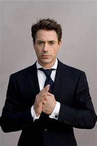 Robert Downey, Jr... one of my favorites.. despite the drug problems and all.