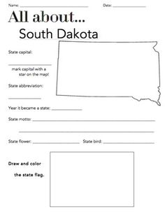 usa printables state of south dakota coloring pages south dakota tradition and culture. Black Bedroom Furniture Sets. Home Design Ideas