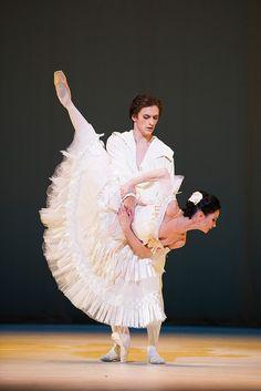 Tamara Rojo as Marguerite and Sergei Polunin as Armand in Marguerite and Armand © ROH/Tristram Kenton, 2013