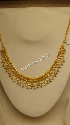 Gold Choker Necklace Manufacturer, Gold Choker Necklace Supplier, Exporter, Service In Bengaluru, India Gold Chain Design, Gold Bangles Design, Gold Earrings Designs, Gold Jewellery Design, Necklace Designs, Jewellery Box, Marriage Jewellery, Jewlery, Gold Mangalsutra Designs