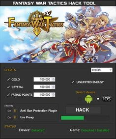 fantasy war tactics r hack mod apk
