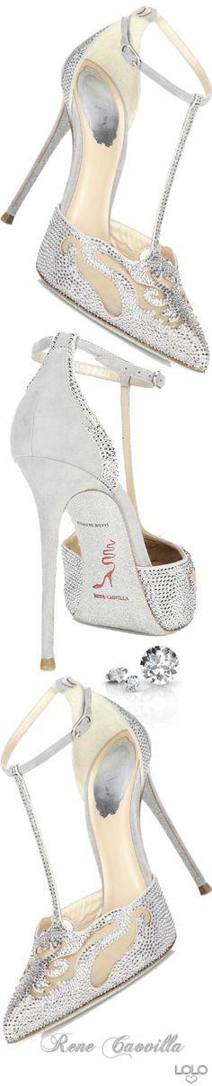 60 new ideas wedding shoes sandals silver rene caovilla Zapatos Shoes, Shoes Flats Sandals, Shoe Boots, Stilettos, High Heels, Pumps, Christian Louboutin, Jimmy Choo, Mode Shoes